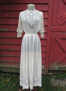 victorian tea dress